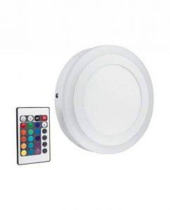 OSRAM - Applique / Plafonnier LED Color - Forme Ronde - Diamètre 20cm - Couleurs RGBW - 780 lm - Télécommande fournie de la marque Osram image 0 produit