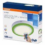 OSRAM - Applique / Plafonnier LED Color - Forme Ronde - Diamètre 20cm - Couleurs RGBW - 780 lm - Télécommande fournie de la marque Osram image 2 produit