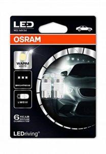 Osram - Dectane OS2850WW-02B famille W5W LED Éclairage intérieur 4000K - Lot de 2 de la marque Osram image 0 produit