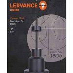 OSRAM Vintage Edition 1906 / Luminaire suspendu PenduLum / 220…240 V, Culot E27, Couleur noire, Aluminum Noir, Longueur 2m, IP20, Lot de 1 de la marque Osram image 2 produit