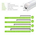 OUBO Néon LED 60cm T8 Tube Fluorescent Eclairage Plafonnier 10W Blanc Naturel 4000k Laiteux abat-jour pour Bureau, cuisine,salon, halle, garages etc. de la marque OUBO image 4 produit
