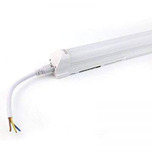 OUBO Néon LED 60cm T8 Tube Fluorescent Eclairage Plafonnier 10W Blanc Naturel 4000k Laiteux abat-jour pour Bureau, cuisine,salon, halle, garages etc. de la marque OUBO image 0 produit
