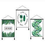 Outflower Vibrant Tropical Rainforest Plant Tapisserie Décoratif Mandala Mural Tapis Dream Bohemian Tenture Mur Décor À La Maison Taille 45 * 65CM de la marque Outflower image 4 produit