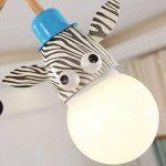 Ozigwpa3- Lampe de Plafond de Bande Dessinée Lampe de Chambre des Enfants Simple Lampe de Plafond Chambre Moderne Creative Personnalité Trois Ampoules Princesse Chambre Lampe de la marque Ozigwpa3 image 4 produit