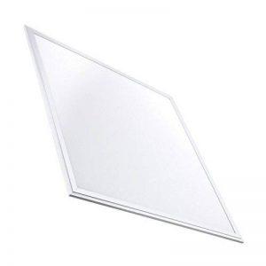 Panneau LED Slim 60x60cm 40W 3200lm Cadre Blanc - Blanc Froid 6000k-6500K LEDKIA de la marque LEDKIA image 0 produit