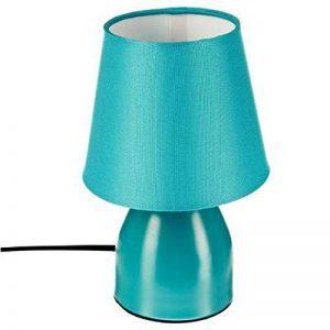 Paris Prix - Lampe De Chevet luminati 19cm Turquoise de la marque Paris Prix image 0 produit