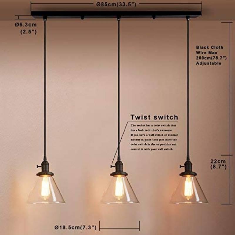 Plafonniers Lustres Luminaire De Plafond Salle A Manger Lampe