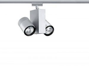 Paulmann URail System Light&Easy Spot Tecno 2x35W GU5,3 Chrom matt de la marque Paulmann image 0 produit