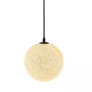 perfk Abat-Jour Plafond Lustre Suspension Décoration Maison Magasin 20cm - Beige avec Trou de la marque perfk image 0 produit