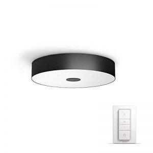Philips Hue FairPlafonnier Noir White Ambiance 39W [Interrupteur avec Variateur Inclus], Contrôle Intelligent de l'Éclairage - Compatible avec Apple Homekit - Fonctionne avec Alexa de la marque Philips Lighting image 0 produit