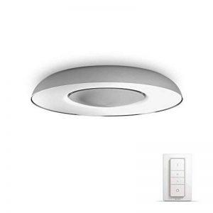 Philips HueStill Plafonnier En Aluminium White Ambiance 32W [Interrupteur avec Variateur Inclus], Contrôle Intelligent de l'Éclairage - Lumière Led Naturelle - Compatible avec Apple Homekit - Fonctionne avec Alexa de la marque Philips Lighting image 0 produit