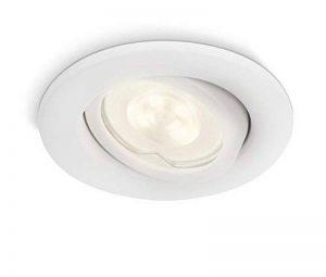 Philips luminaire extérieur LED spot encastrable Fresco blanc de la marque Philips Lighting image 0 produit