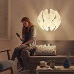 Philips Luminaire intérieur Smart volume Chiffon suspension 60cm de diamètre blanc 1x60w 230v de la marque Philips Lighting image 4 produit