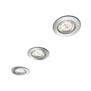 Philips myBathroom dreaminess Spot LED encastrable rond (3x 4,5W LED, pois, de Salle de Bain Sans danger) de la marque Philips image 0 produit