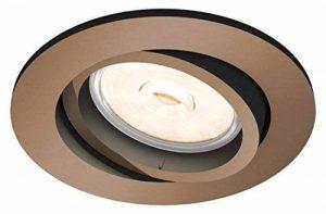 Philips - Spot encastrable, modèle : Donegal, culot GU10, forme : ronde Cuivre de la marque Philips image 0 produit