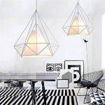 plafonnier blanc design TOP 14 image 1 produit