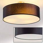 Plafonnier design Foggia avec abat-jour noir diamètre 50 cm de la marque hofstein image 1 produit