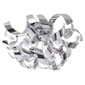 Plafonnier design à spirales chrome de la marque hofstein image 0 produit