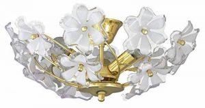 Plafonnier Fleurs Romantique Style Art Nouveau Luminaire Intérieur Dorée/Acrylique 1/4/777 de la marque Rabalux image 0 produit