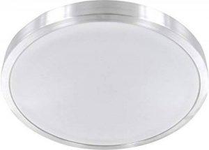 Plafonnier LED 12W en aluminium - IP44, 750lm, diamètre de 260mm, 4500K - Lampe de salle de bain - Blanc chaud de la marque HAVA image 0 produit
