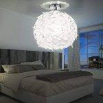 Plafonnier LED 7 watts luminaire plafond suspension design lampe boule blanc moderne de la marque Reality Leuchten image 4 produit