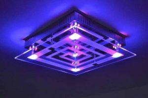 Plafonnier à LED avec variateur de couleurs et télécommande de la marque hofstein image 0 produit