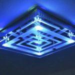 Plafonnier à LED avec variateur de couleurs et télécommande de la marque hofstein image 2 produit