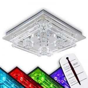 Plafonnier LED changeant de couleur avec télécommande de la marque hofstein image 0 produit