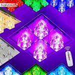 Plafonnier LED à changement de couleur et télécommande de la marque hofstein image 1 produit