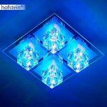 Plafonnier LED à changement de couleur et télécommande de la marque hofstein image 4 produit
