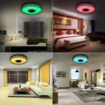 Plafonnier LED Design Chambre 4160 Lumens Lumières Coloré APP Télécommandé avec Enceinte Bluetooth de la marque iLifeSmart image 1 produit
