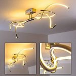 Plafonnier LED design à intensité variable de la marque hofstein image 1 produit