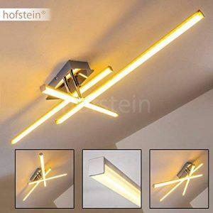 Plafonnier LED Georgina - Suspension moderne puissante à basse consommation - Luminaire de plafond 3 lumières pivotantes de la marque hofstein image 0 produit