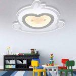 Plafonnier LED Intéressant Petit Singe Design en Acrylique Lampe du Plafond Modern Pour Chambre Enfant Cuisine Salon Balcon Couloir Blanc Chaud D53*5.5cm 40W[Classe énergétique A++] de la marque LFL image 3 produit