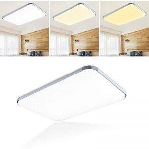 Plafonnier LED moderne à intensité variable en aluminium pour salon, salle de séjour, éclairage moderne par lumière en énergie 48w Dimmbar de la marque WIS image 0 produit