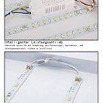 Plafonnier LED moderne à intensité variable en aluminium pour salon, salle de séjour, éclairage moderne par lumière en énergie 48w Dimmbar de la marque WIS image 4 produit