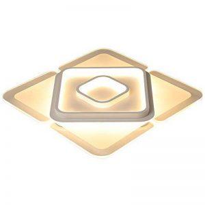Plafonnier LED Original Forme de Carré Design en Acrylique Lampe du Plafond Modern Pour Chambre Enfant Cuisine Salon Balcon Couloir Blanc Froid Ø43*6cm 30W [Classe énergétique A++] de la marque LFL image 0 produit