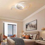 Plafonnier LED Original Forme de Carré Design en Acrylique Lampe du Plafond Modern Pour Chambre Enfant Cuisine Salon Balcon Couloir Dimmable avec Télécommande 86*60*6cm 50W [Classe énergétique A++] de la marque LFL image 3 produit