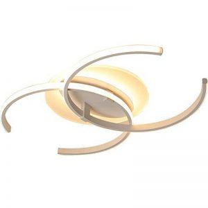 Plafonnier LED Original Forme de Carré Design en Acrylique Lampe du Plafond Modern Pour Chambre Enfant Cuisine Salon Balcon Couloir Dimmable avec Télécommande 86*60*6cm 50W [Classe énergétique A++] de la marque LFL image 0 produit