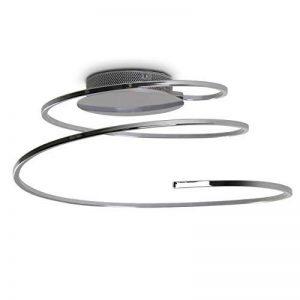 Plafonnier LED Ringos spirale 24 Watt - 1300 Lumen - 3000 Kelvin de la marque hofstein image 0 produit