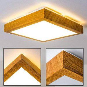 Plafonnier LED Wood - 900 Lumen - 12 Watt - 3000 Kelvin (Blanc chaud) de la marque hofstein image 0 produit