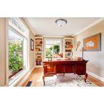 Plafonnier Rond de Design Classique en Métal couleur Bronze Antique et Verre Blanc Mat pour Salon Cuisine Couloir 3x60W E27 de la marque MW-Light image 1 produit