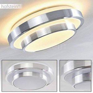 Plafonnier rond LED pour salle de bain ou bureau - 880 Lumen - 3000 Kelvin - IP 44 de la marque hofstein image 0 produit