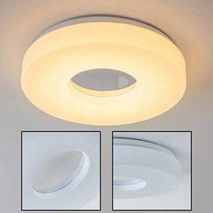 Plafonnier rond pour salle de bain LED Loris 3000 Kelvin - 1380 Lumen - IP 44 de la marque hofstein image 0 produit