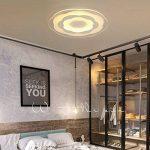 Plafonnier Ronde LED Original Fleur Design en Acrylique Lampe du Plafond Modern Pour Chambre Enfant Cuisine Salon Balcon Couloir Dimmable avec Télécommande D53*4cm 40W [Classe énergétique A++] de la marque LFL image 3 produit