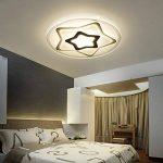 Plafonnier Ronde LED Original Forme d'étoile Design en Acrylique Lampe du Plafond Modern Pour Chambre Enfant Cuisine Salon Balcon Couloir Blanc Froid D63*5.5cm 50W [Classe énergétique A++] de la marque LFL image 3 produit