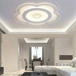 Plafonnier Ronde LED Original Forme de Fleur Cerise Design en Acrylique Lampe du Plafond Modern Pour Chambre Enfant Cuisine Salon Balcon Couloir Blanc Froid D63*4cm 50W [Classe énergétique A++] de la marque LFL image 3 produit