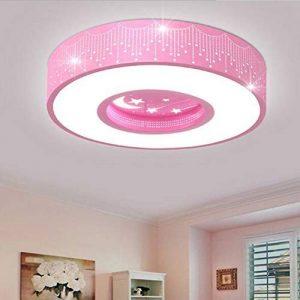 Plafonnier Xingyue LED Lumière Ronde Chaude Applicable/Jardin D'enfants Plafonnier De La Chambre Principale,Pink de la marque Ceiling Light image 0 produit