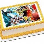 Pokémon Pikachu A4papier de sucre glace gâteau d'anniversaire d'image img 14 de la marque Fabulous Cake Toppers image 2 produit