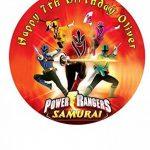 Power Rangers personnalisé gâteau Sucre papier 19,1cm Image S4 de la marque Fabulous Cake Toppers image 2 produit